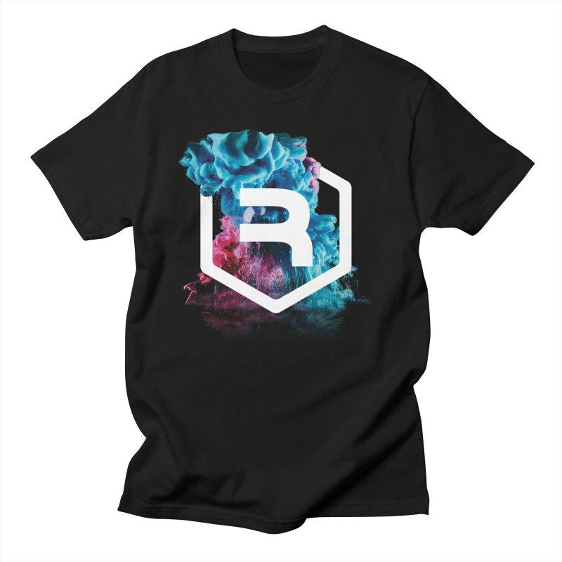 RevSmoke in Men's Regular T-Shirt Black by RevolutionTradingCo