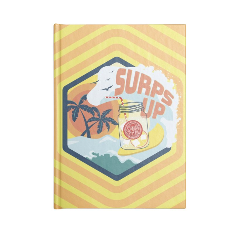 Surps Up in Lined Journal Notebook by RevolutionTradingCo