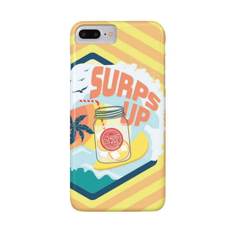 Surps Up in iPhone 8 Plus Phone Case Slim by RevolutionTradingCo