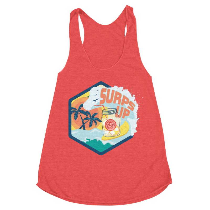 Surps Up Women's Racerback Triblend Tank by RevolutionTradingCo
