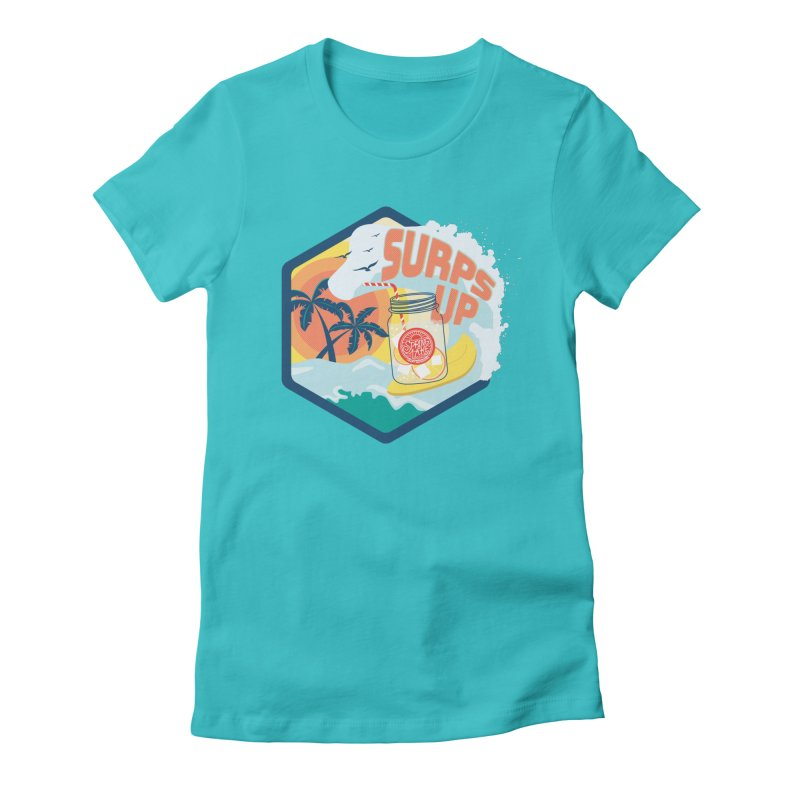 Surps Up Women's Fitted T-Shirt by RevolutionTradingCo