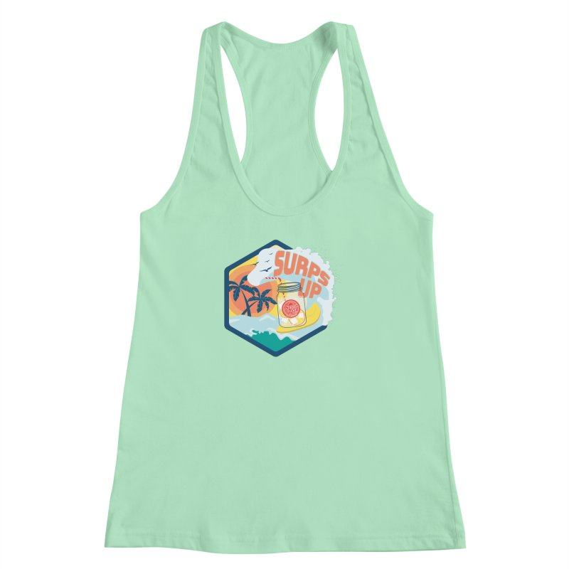 Surps Up Women's Racerback Tank by RevolutionTradingCo
