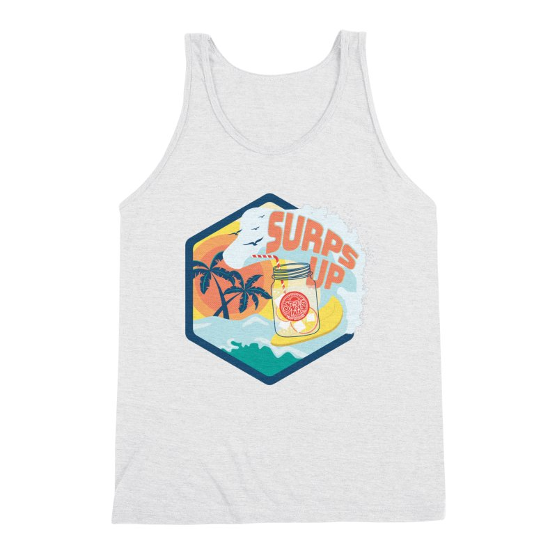 Surps Up Men's Triblend Tank by RevolutionTradingCo
