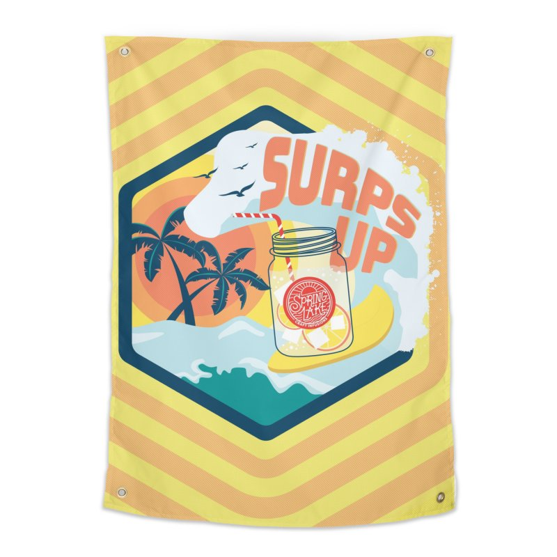 Surps Up Home Tapestry by RevolutionTradingCo