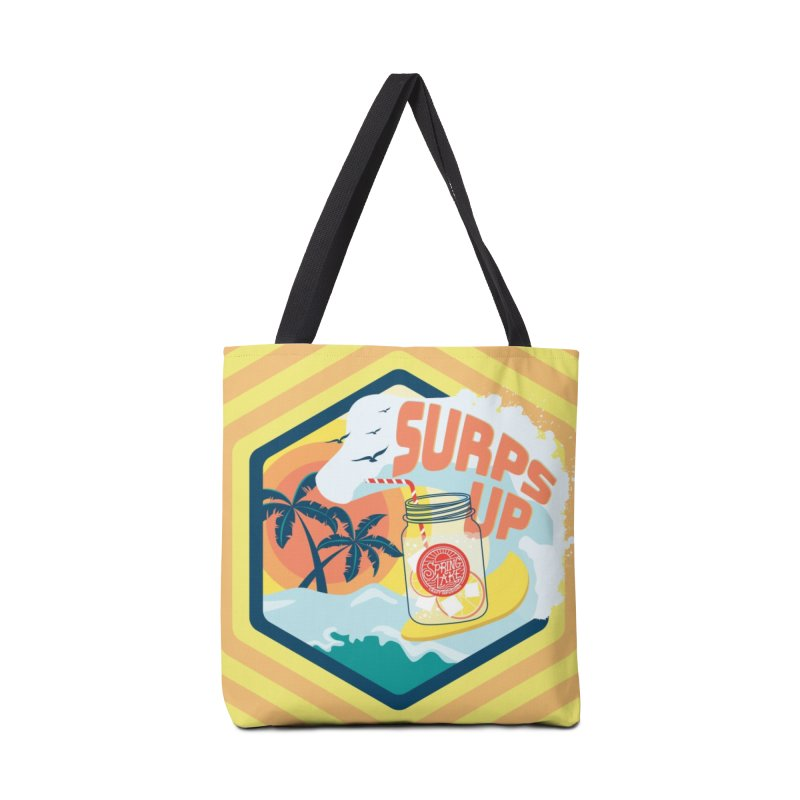 Surps Up in Tote Bag by RevolutionTradingCo