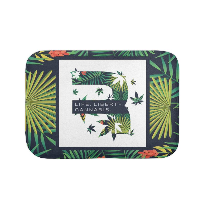 Tropical R Home Bath Mat by RevolutionTradingCo