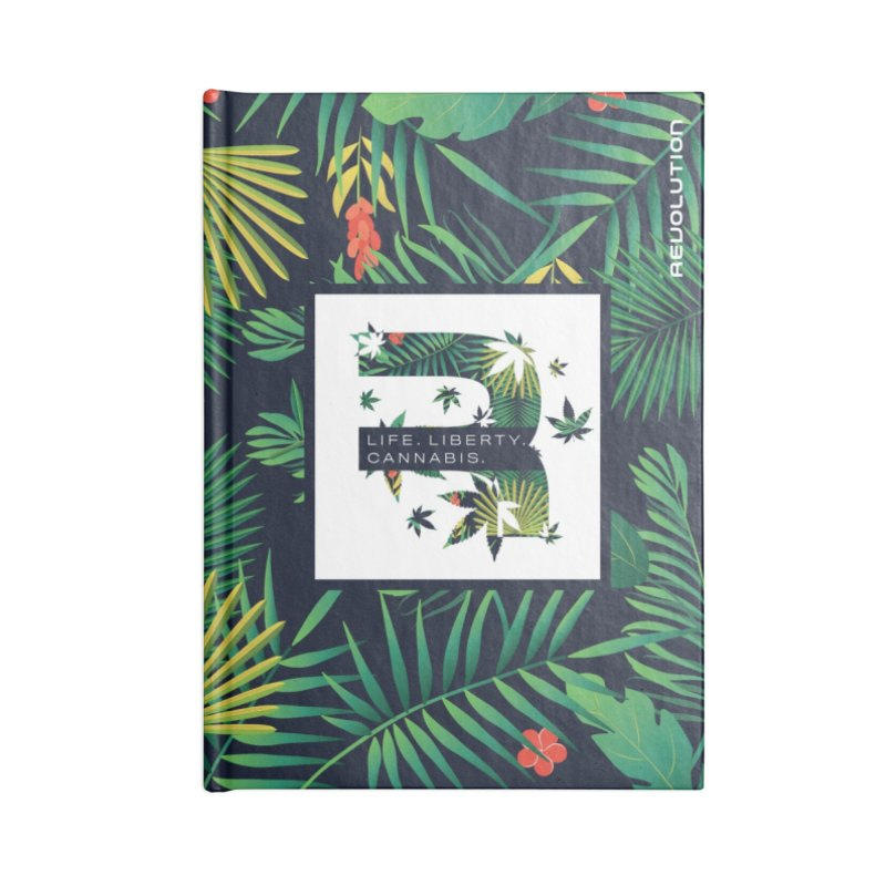 Tropical R Accessories Lined Journal Notebook by RevolutionTradingCo
