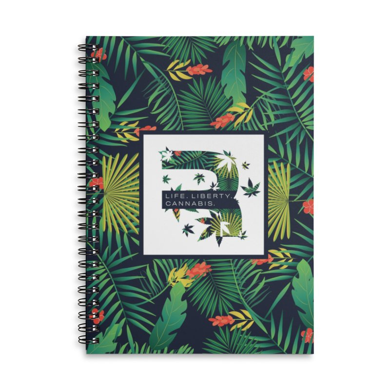 Tropical R Accessories Lined Spiral Notebook by RevolutionTradingCo