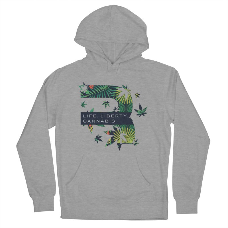 Tropical R Men's French Terry Pullover Hoody by RevolutionTradingCo