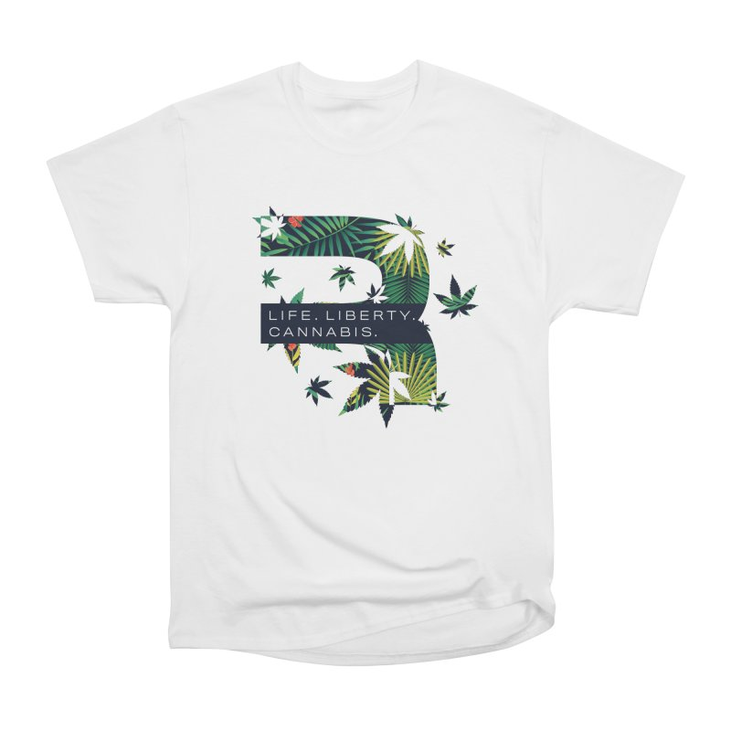 Tropical R Men's T-Shirt by RevolutionTradingCo