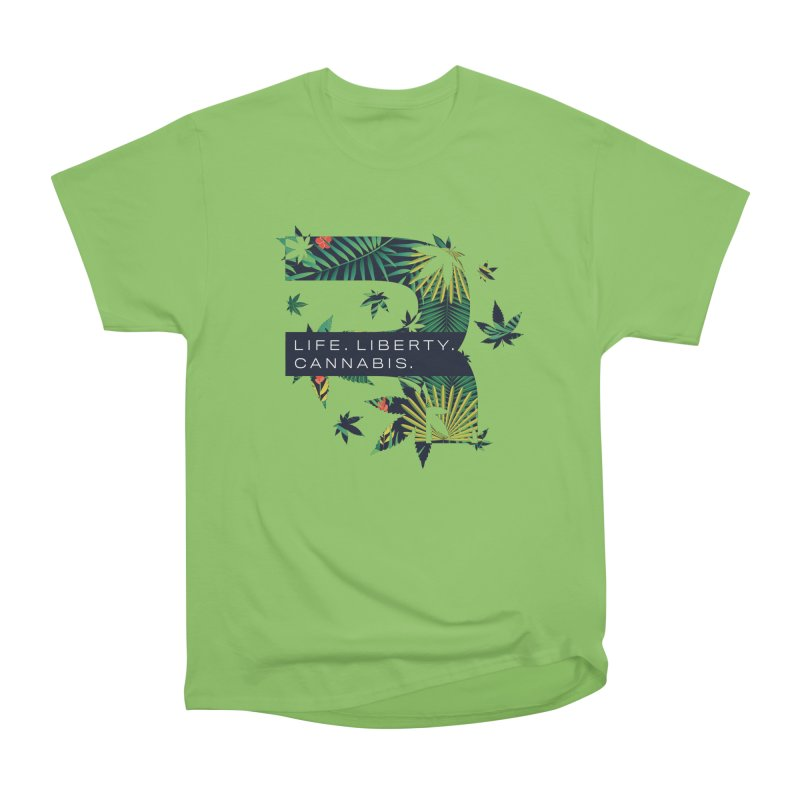 Tropical R Women's Heavyweight Unisex T-Shirt by RevolutionTradingCo