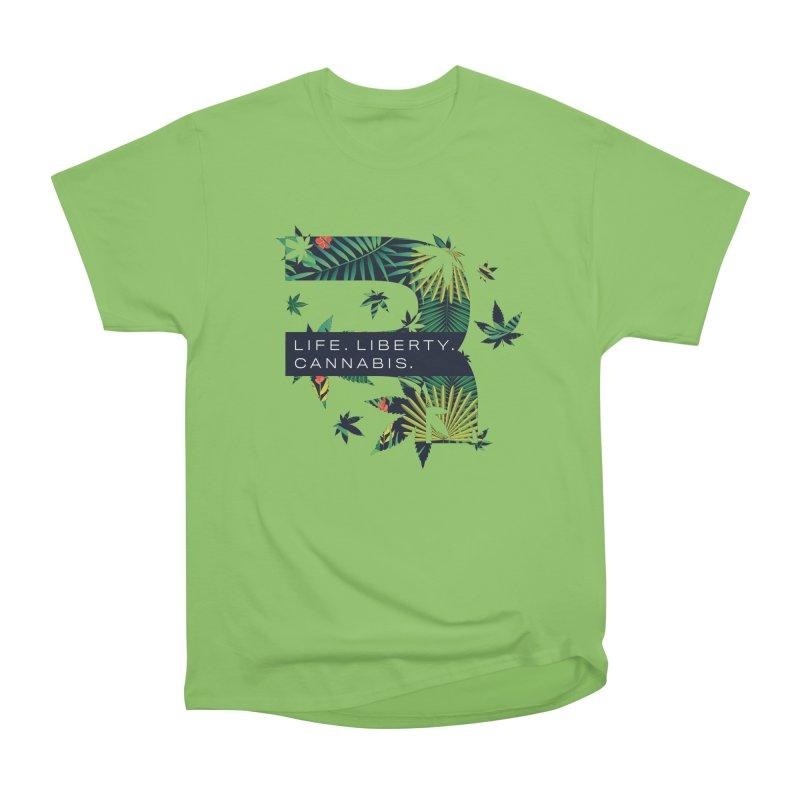 Tropical R Men's Heavyweight T-Shirt by RevolutionTradingCo