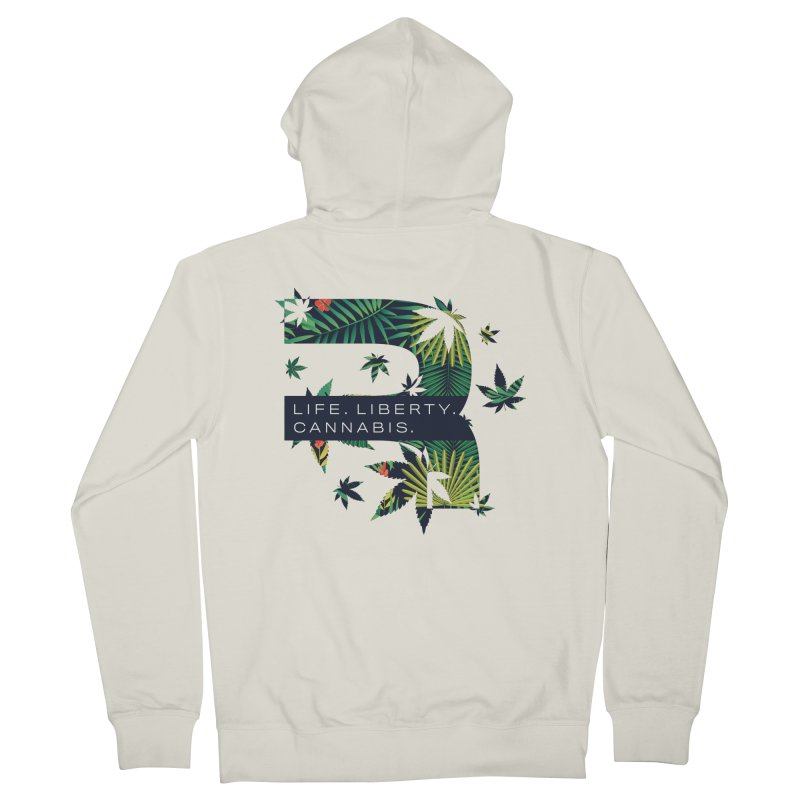 Tropical R Men's French Terry Zip-Up Hoody by RevolutionTradingCo