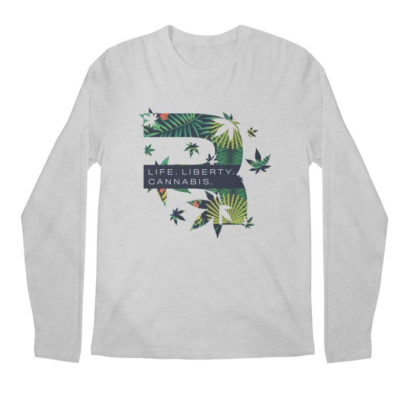 Tropical R Men's Regular Longsleeve T-Shirt by RevolutionTradingCo