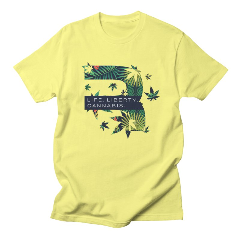 Tropical R Men's Regular T-Shirt by RevolutionTradingCo