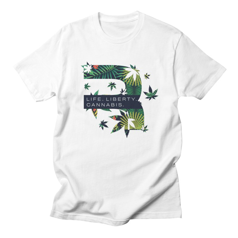 Tropical R Men's Regular T-Shirt by RevolutionTradingCo