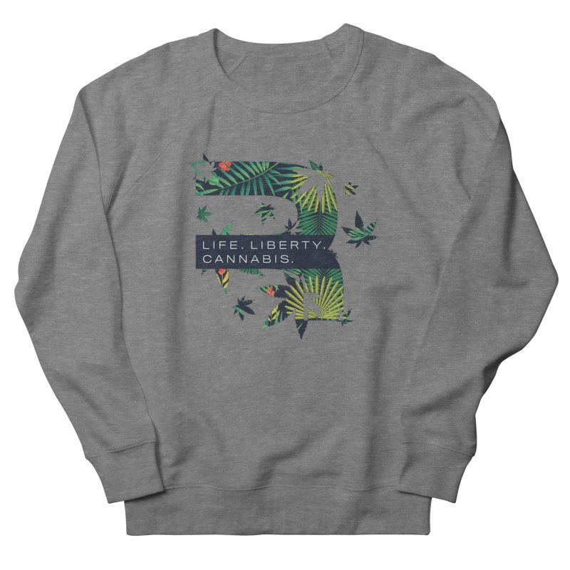 Tropical R Men's French Terry Sweatshirt by RevolutionTradingCo