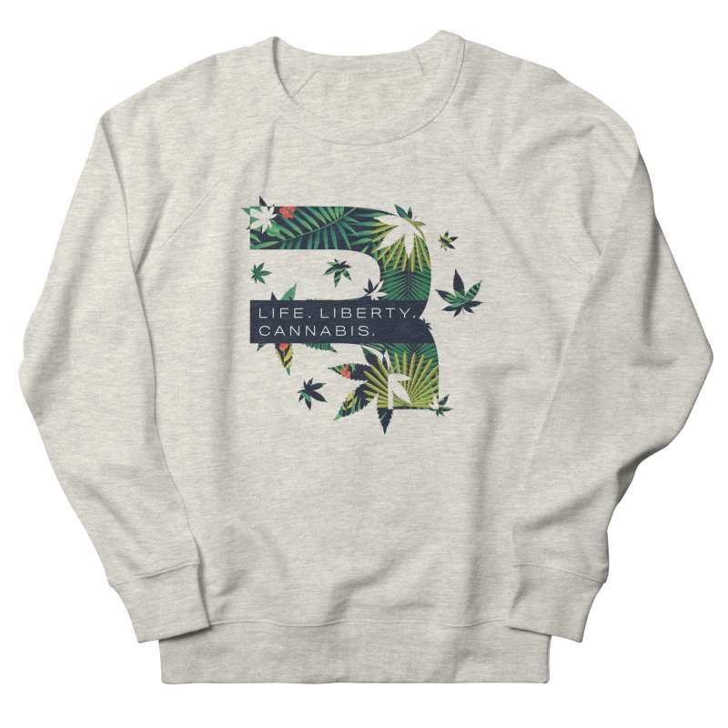 Tropical R Men's Sweatshirt by RevolutionTradingCo