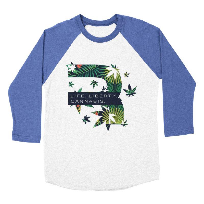 Tropical R Women's Baseball Triblend Longsleeve T-Shirt by RevolutionTradingCo
