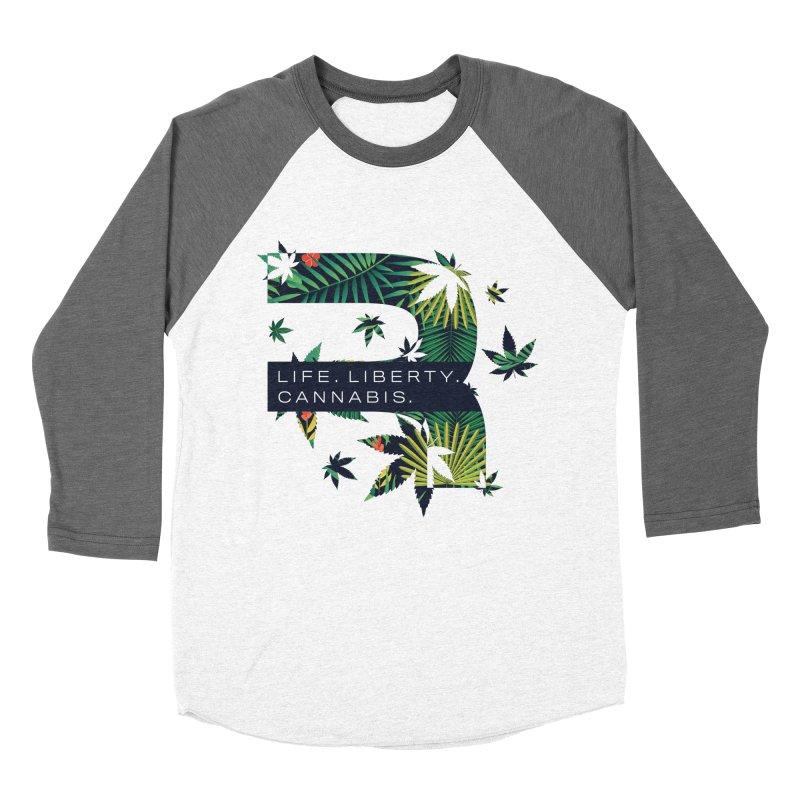 Tropical R Women's Longsleeve T-Shirt by RevolutionTradingCo