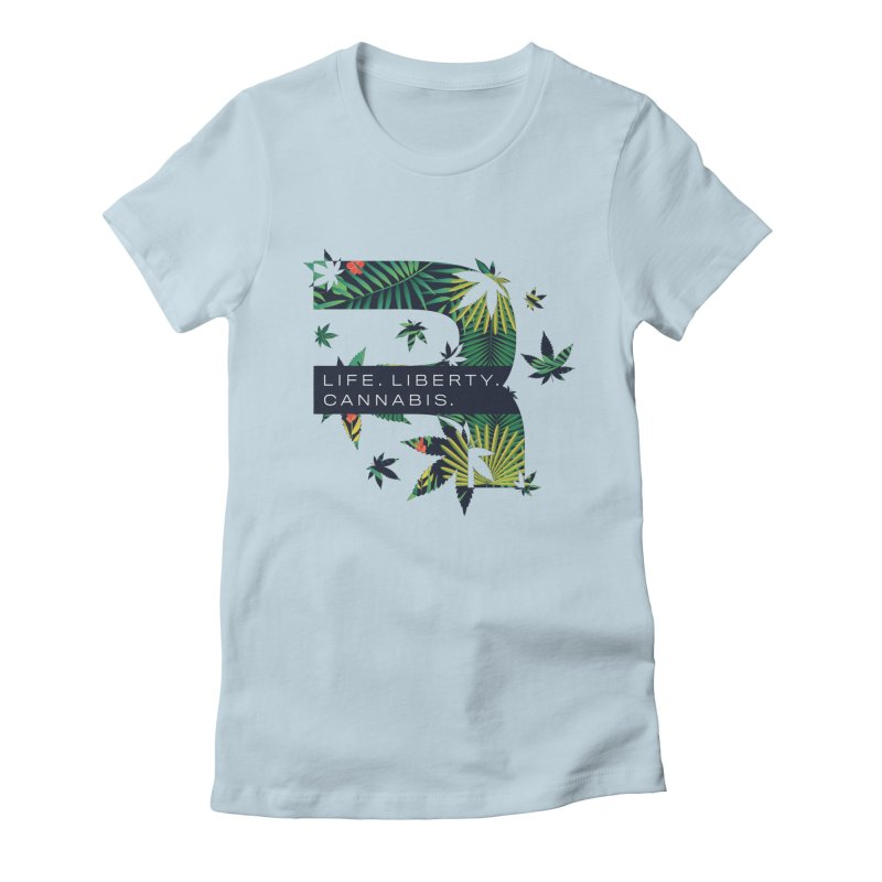 Tropical R Women's T-Shirt by RevolutionTradingCo