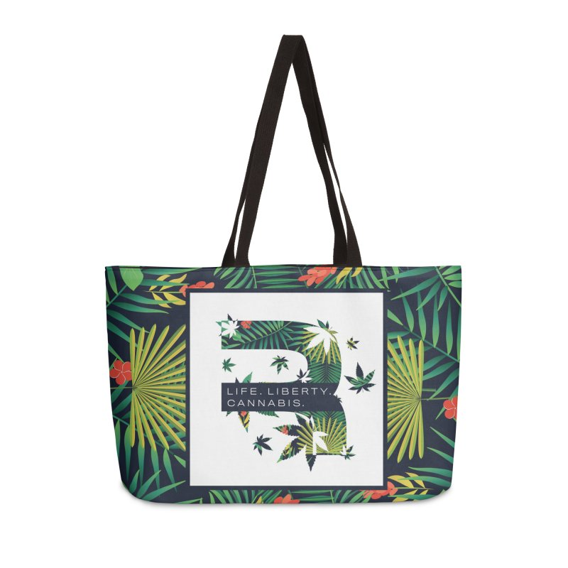 Tropical R Accessories Weekender Bag Bag by RevolutionTradingCo