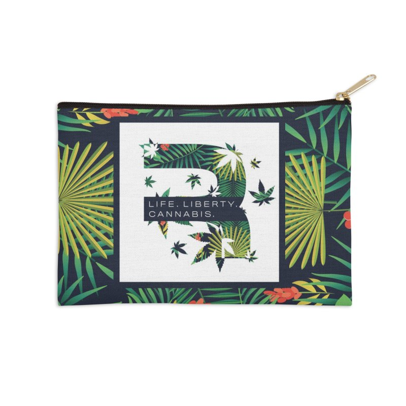 Tropical R Accessories Zip Pouch by RevolutionTradingCo