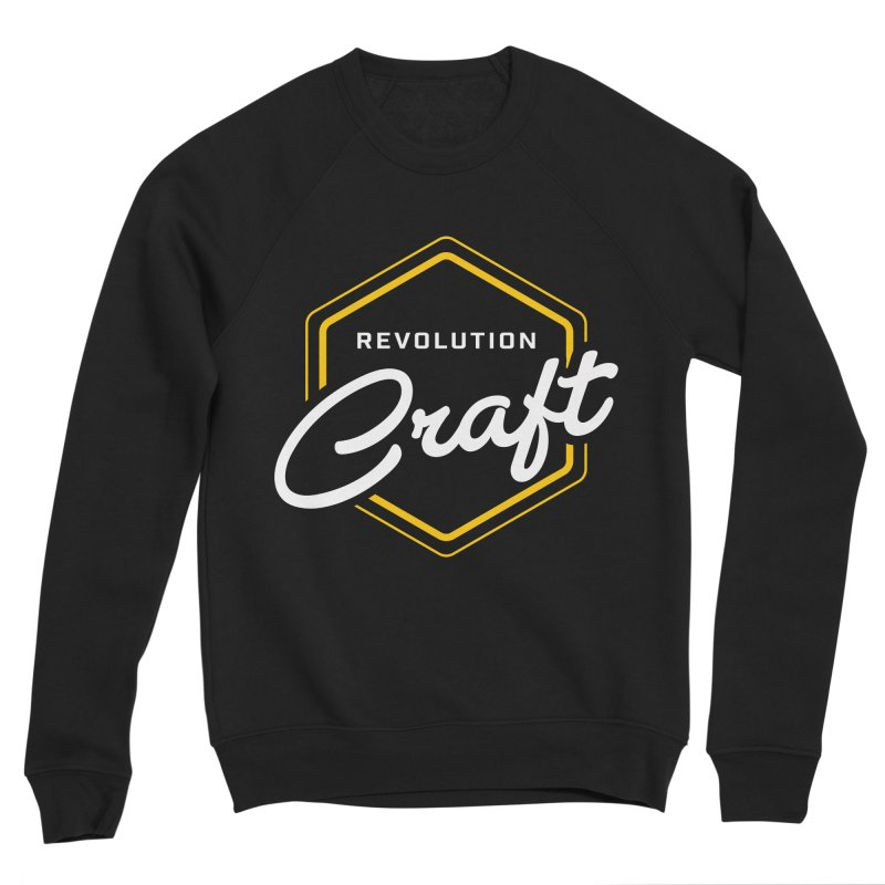Revolution Craft Men's Sponge Fleece Sweatshirt by RevolutionTradingCo