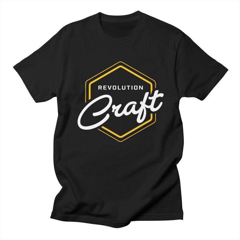 Revolution Craft in Men's Regular T-Shirt Black by RevolutionTradingCo