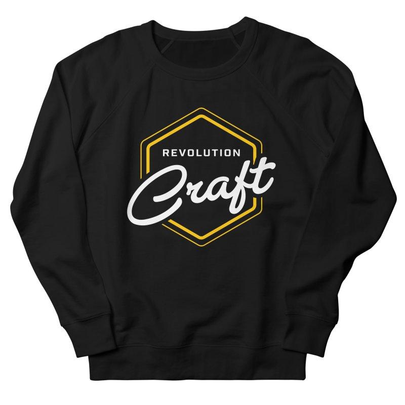 Revolution Craft in Women's French Terry Sweatshirt Black by RevolutionTradingCo