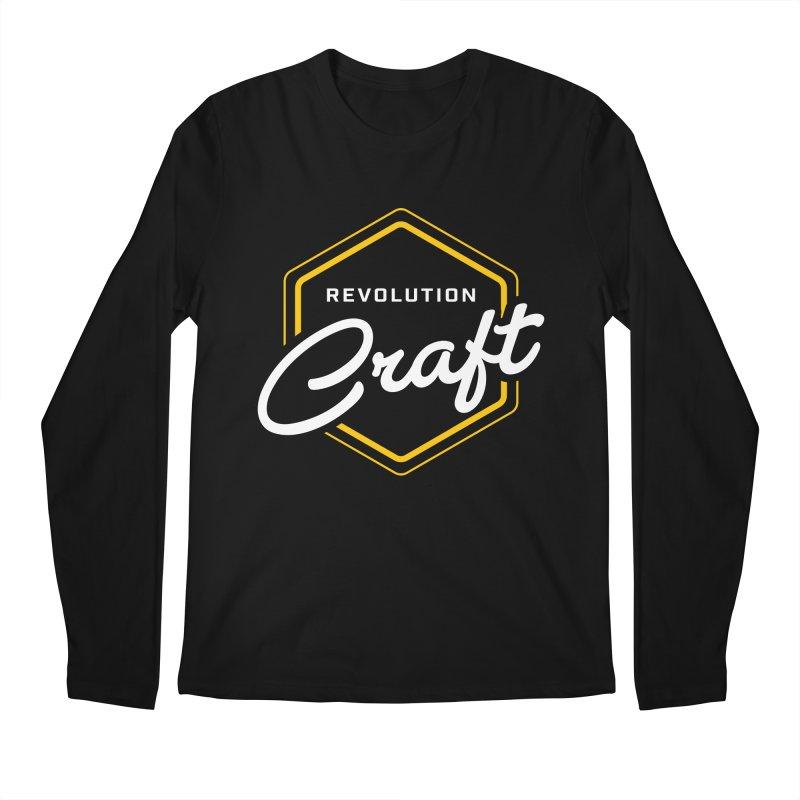 Revolution Craft Men's Longsleeve T-Shirt by RevolutionTradingCo