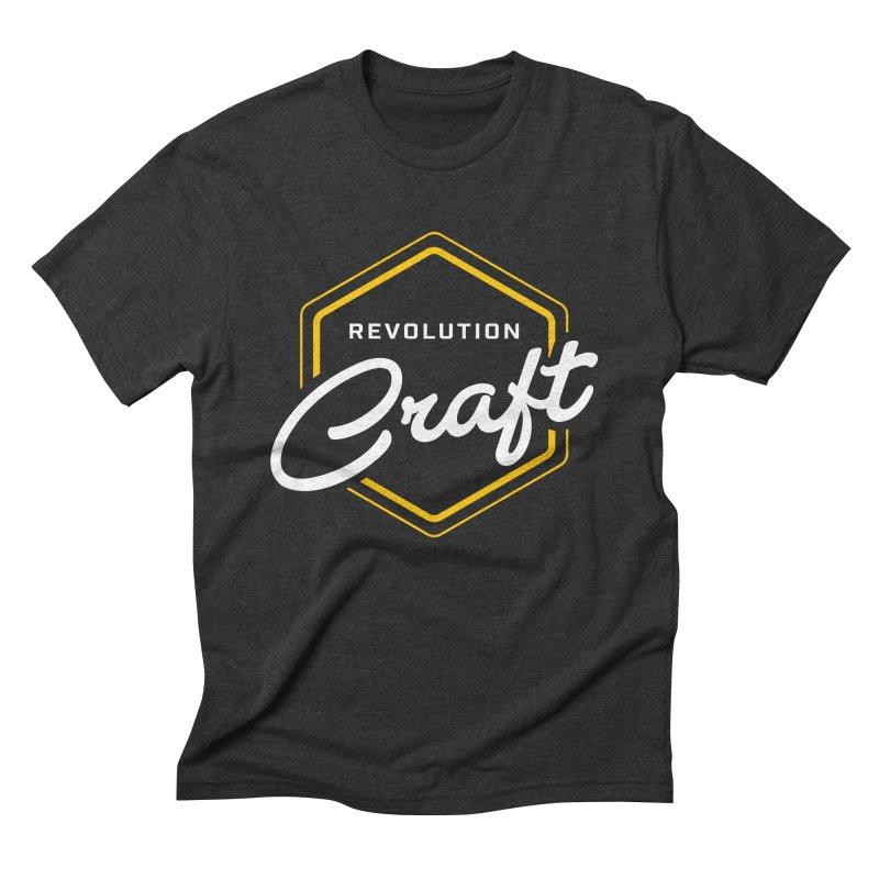 Revolution Craft Men's Triblend T-Shirt by RevolutionTradingCo