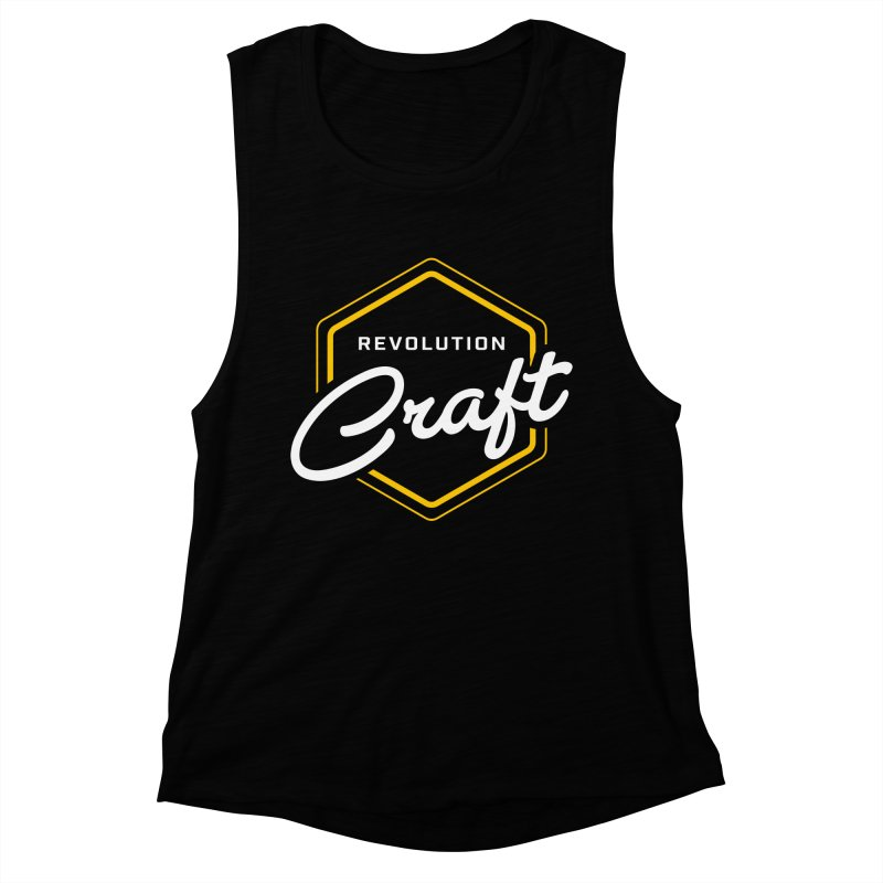 Revolution Craft Women's Muscle Tank by RevolutionTradingCo