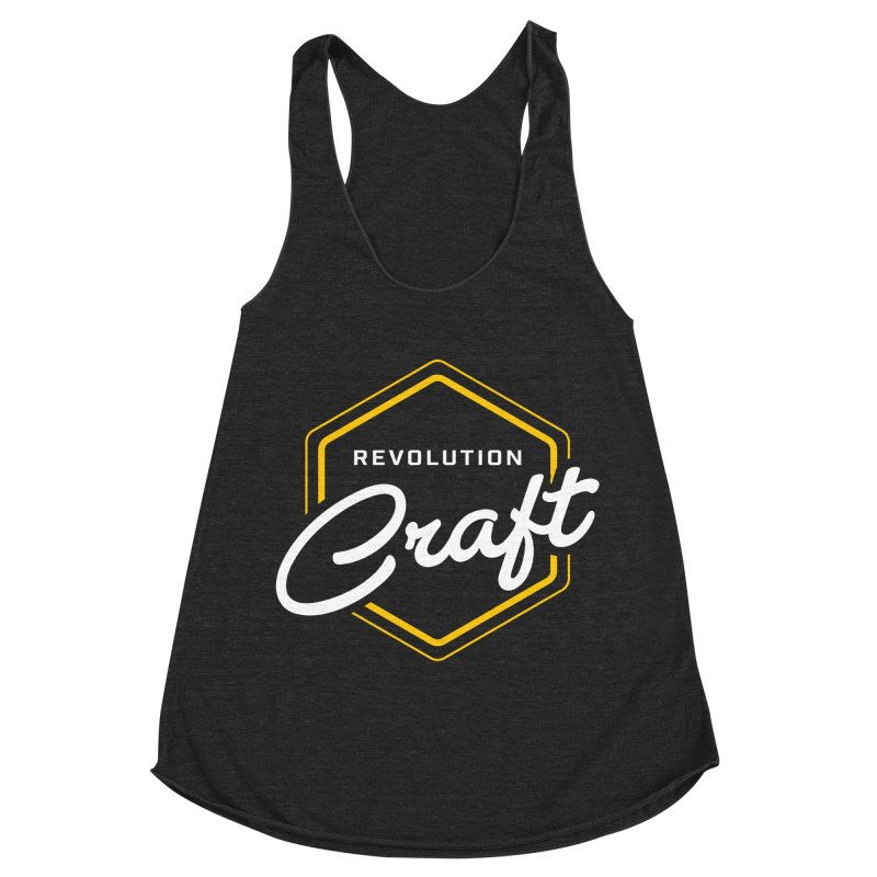 Revolution Craft Women's Racerback Triblend Tank by RevolutionTradingCo