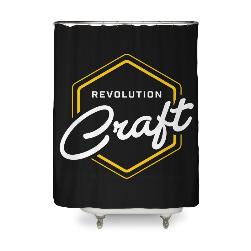 Revolution Craft Home Shower Curtain by RevolutionTradingCo