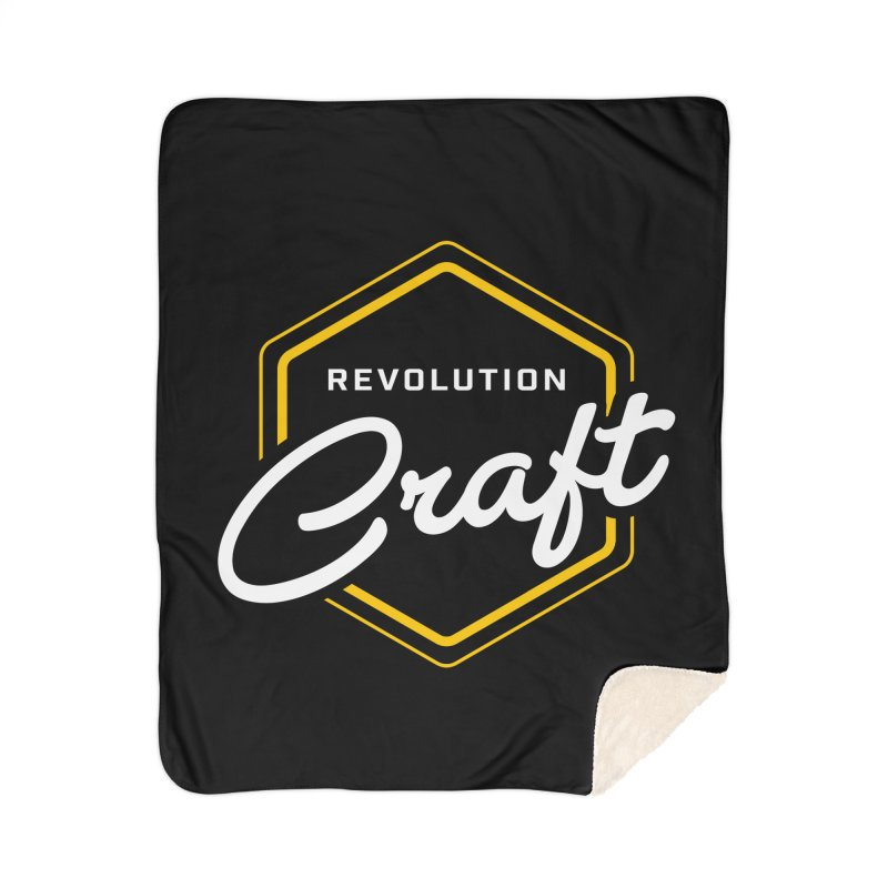 Revolution Craft Home Sherpa Blanket Blanket by RevolutionTradingCo