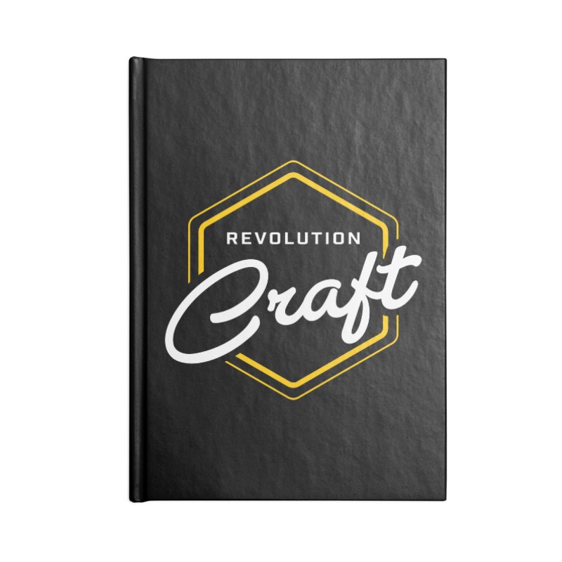 Revolution Craft Accessories Lined Journal Notebook by RevolutionTradingCo