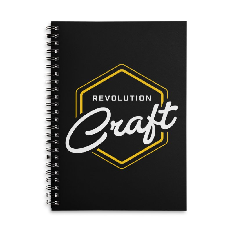 Revolution Craft Accessories Lined Spiral Notebook by RevolutionTradingCo