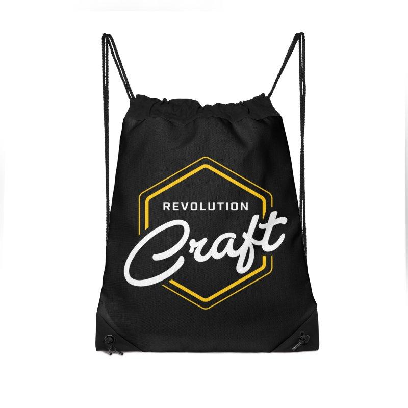 Revolution Craft Accessories Drawstring Bag Bag by RevolutionTradingCo