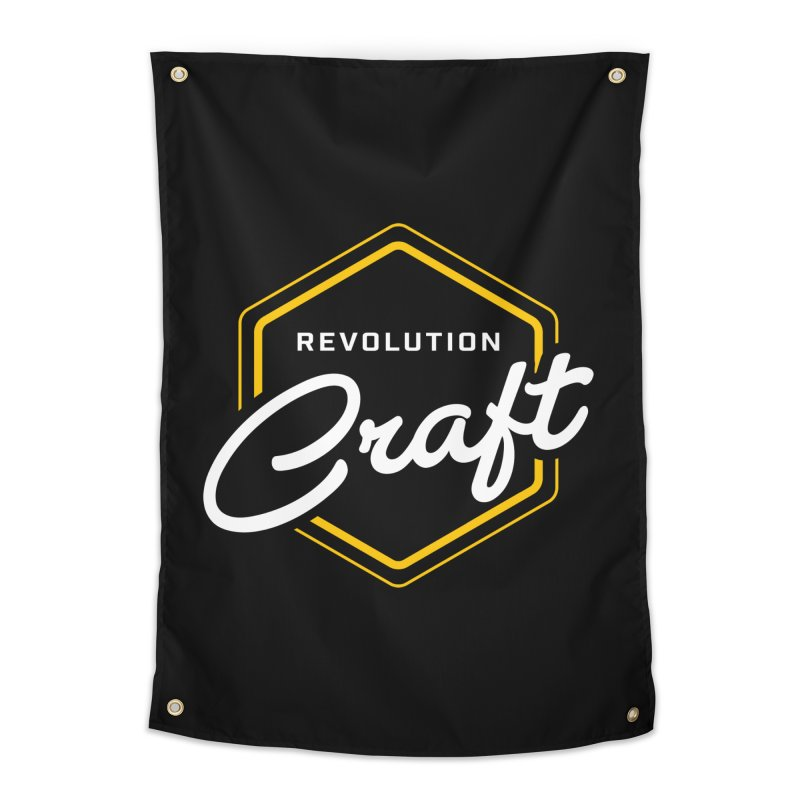 Revolution Craft Home Tapestry by RevolutionTradingCo
