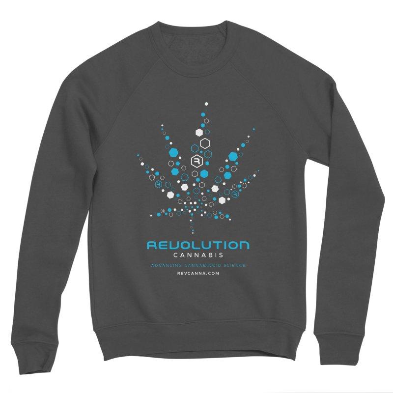Advancing Cannabinoid Science Men's Sponge Fleece Sweatshirt by RevolutionTradingCo