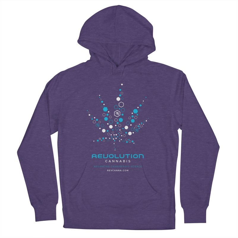 Advancing Cannabinoid Science in Women's French Terry Pullover Hoody Heather Purple by RevolutionTradingCo