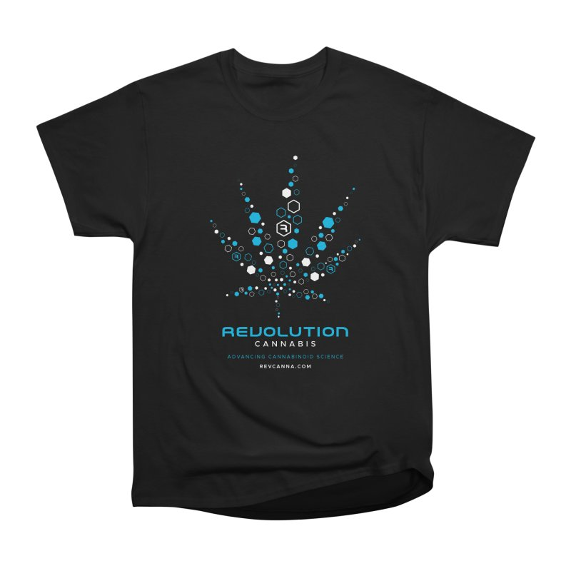 Advancing Cannabinoid Science in Men's Heavyweight T-Shirt Black by RevolutionTradingCo
