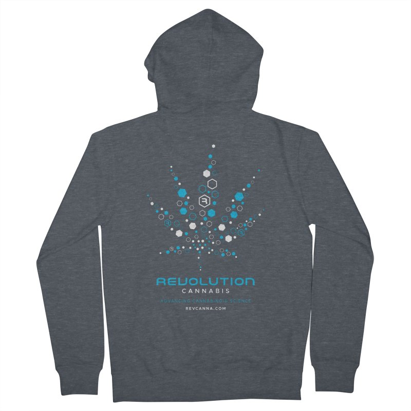 Advancing Cannabinoid Science Men's French Terry Zip-Up Hoody by RevolutionTradingCo
