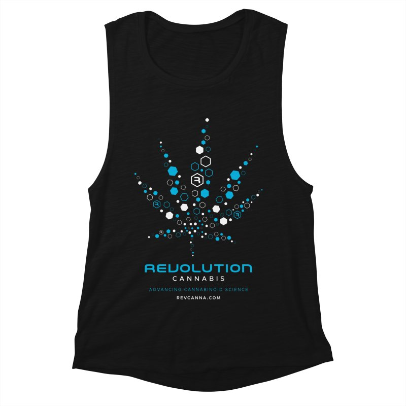 Advancing Cannabinoid Science Women's Muscle Tank by RevolutionTradingCo
