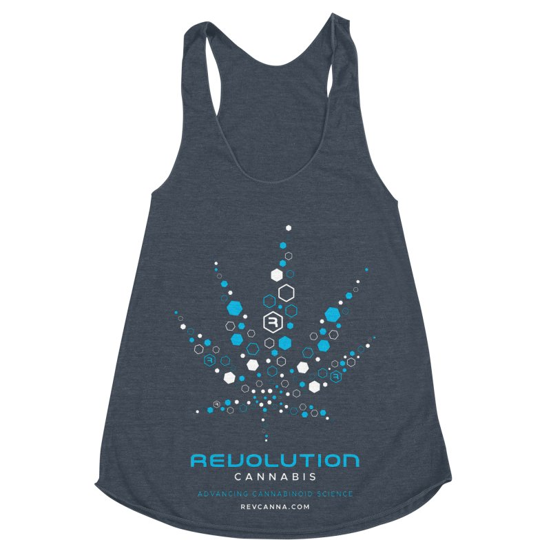 Advancing Cannabinoid Science Women's Racerback Triblend Tank by RevolutionTradingCo