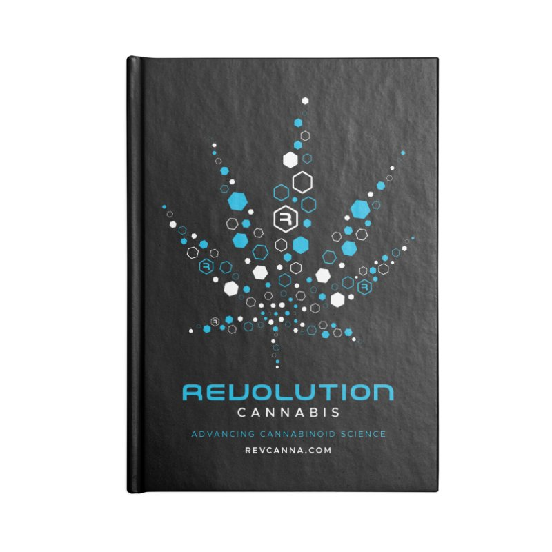 Advancing Cannabinoid Science Accessories Lined Journal Notebook by RevolutionTradingCo