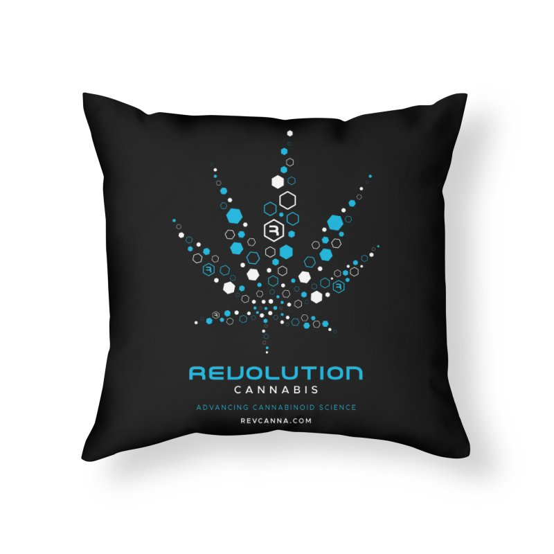 Advancing Cannabinoid Science Home Throw Pillow by RevolutionTradingCo