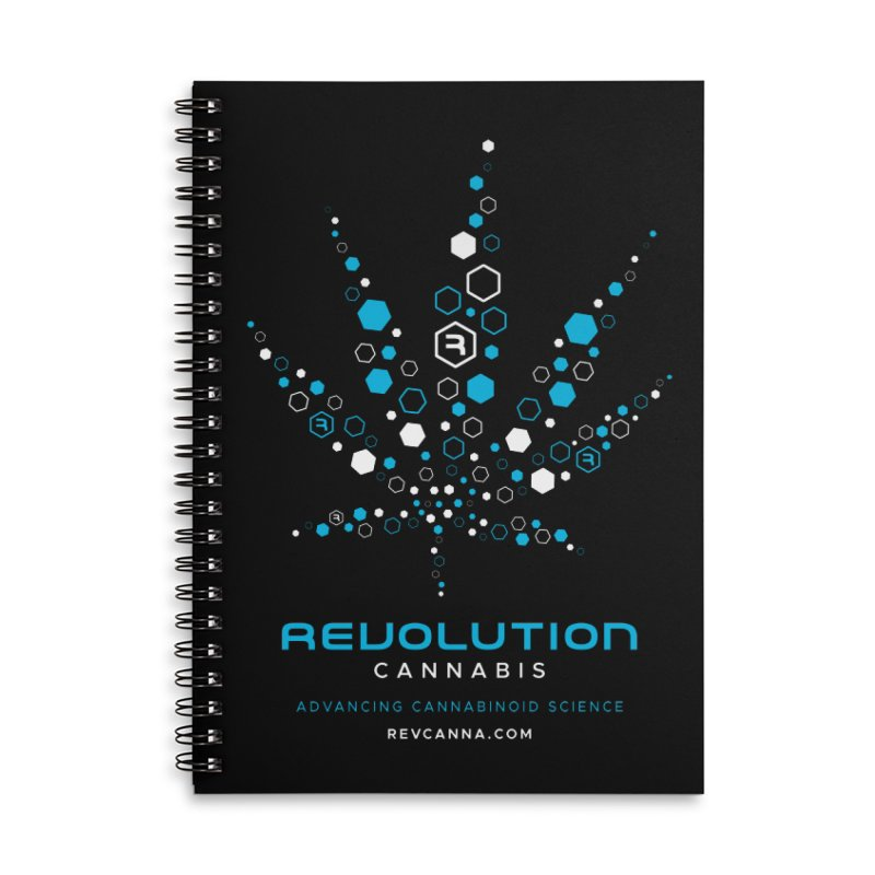 Advancing Cannabinoid Science Accessories Lined Spiral Notebook by RevolutionTradingCo