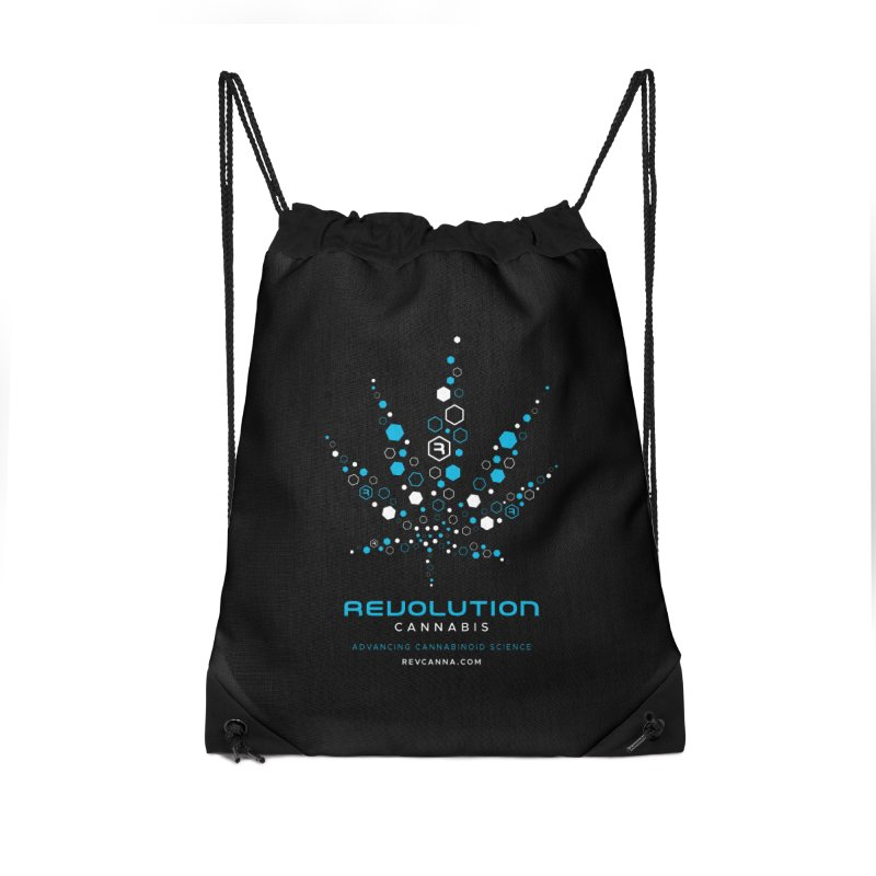 Advancing Cannabinoid Science Accessories Drawstring Bag Bag by RevolutionTradingCo